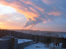 smog imagem de stock royalty free
