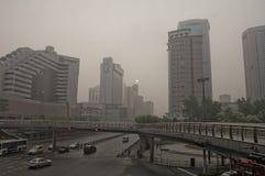 smog fotografia stock
