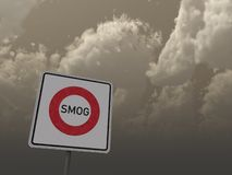 Smog area Stock Photos