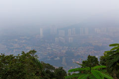 Smog crisis in Malaysia Royalty Free Stock Images