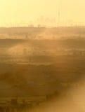 Smog della città Fotografia Stock Libera da Diritti