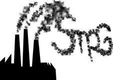 Smog factory Stock Photos