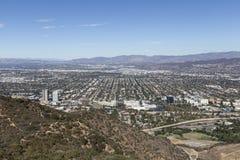 Smog-freier Tag im LA lizenzfreies stockfoto