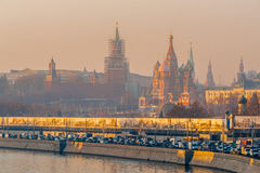 Free Smog In Moscow, Russia. Thursday, Nov. 20, 2014. Weather: Sun, S Royalty Free Stock Photography - 47273437