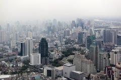 Smog over Bangkok Stock Image