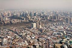 Free Smog Over Santiago, Chile Royalty Free Stock Photos - 16593418