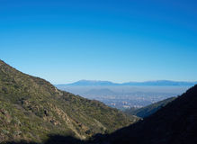 Smog over Santiago Stock Photo