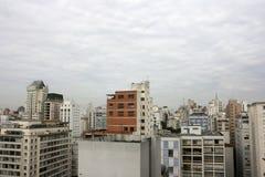Smog over Sao Paulo Royalty Free Stock Photo