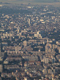 Smog over Sofia city, Bulgaria Royalty Free Stock Photo