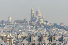 Smog in Paris Royalty Free Stock Photo