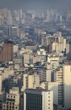 Smog pollution and skyscrapers, São Paulo, Brazil. Stock Image
