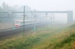Smog in Russia Stock Image