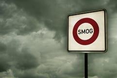 Smogbereich stockbilder