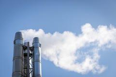 Smogemissionen Lizenzfreies Stockbild