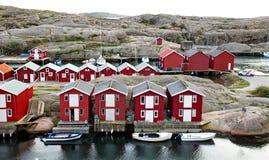 Smogen是一个小的渔夫镇 免版税图库摄影
