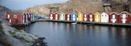 Smogen, Suède Image libre de droits