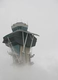 Smoggy Airport Royalty Free Stock Images