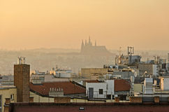Smoggy Prague Stock Image