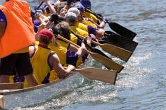 smok łodzi Fotografia Stock