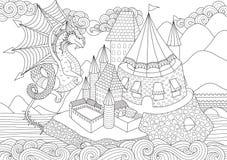 Smok ilustracji