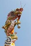 smok azjatykcia świątynia Zdjęcia Royalty Free