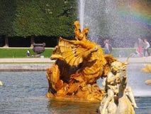 Smok fontanna Zdjęcie Royalty Free