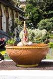 Smok fontanna Obrazy Royalty Free