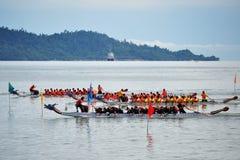 Smok łodzi festiwal Fotografia Stock
