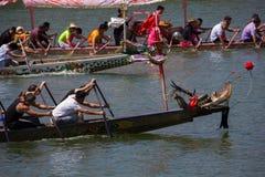 Smok łodzi festiwalu rasy praktyka Zdjęcie Stock