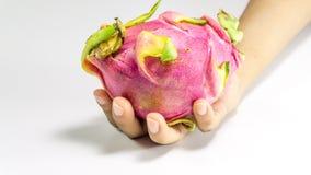 Smok owoc na hand/Zdrowych owoc Zdjęcie Stock