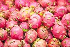 Smok owoc na rynku stojaku na Jawa Obraz Stock