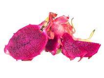 Smok owoc odizolowywająca na białym tle Fotografia Royalty Free