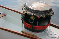 smok perkusi statku Obraz Royalty Free