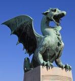smok posąg Obraz Royalty Free