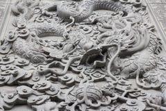 Smok rzeźbi żadny 3 obrazy stock