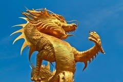 smok statua Obrazy Royalty Free