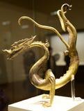 Smok statua antyczna porcelana Fotografia Royalty Free