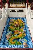 Smok w Thean Świątyni Hou Fotografia Stock