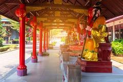 Smok wioska, raj, atrakcja turystyczna W Suphan Buri prowincji Jeden turystyki miejscowym Tajlandia zdjęcia stock