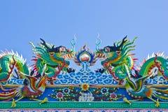 smoka błękitny niebo zdjęcie royalty free