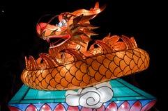 smoka chiński lampion Fotografia Royalty Free