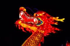 Smoka Chiński Latarniowy festiwal Fotografia Royalty Free