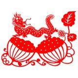smoka chiński nowy rok royalty ilustracja