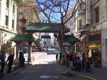 Smoka Chinatown brama, 3 fotografia royalty free