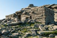Smoka dom w Grecja Obraz Royalty Free
