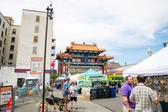 Smoka Fest Chinatown Seattle Waszyngton obraz royalty free