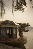 Smoka figurant, Beihai park Zdjęcia Royalty Free