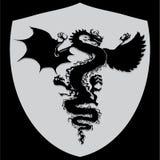 Smoka logo ilustracji