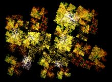 Smoka taniec & x28; w cyfrowym world& x29; Obraz Stock