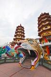 Smoka Tygrysa Wierza w Tajwan Zdjęcie Stock